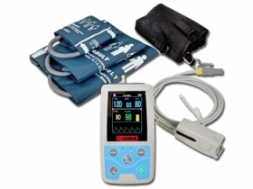 HOLTER PRESSORIO 24 ORE + SpO2 con software - Mes Medical & Engineering Sol.